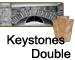 Manufactured Stone Keystones Doubles