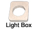Manufactured Stone Lightbox