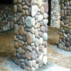 Stone specialist llc installers of manufactured ledge for River rock columns